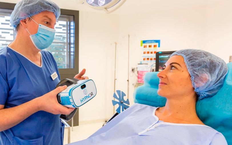 Hypnovr pour améliorer le parcours de soin du patient
