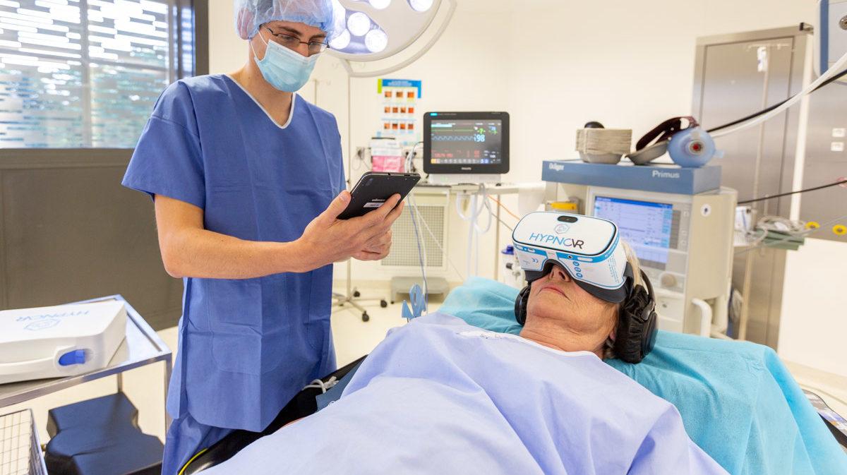 hypnosédation en anesthésie et réanimation